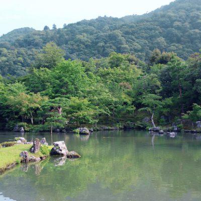 嵐山の桂川
