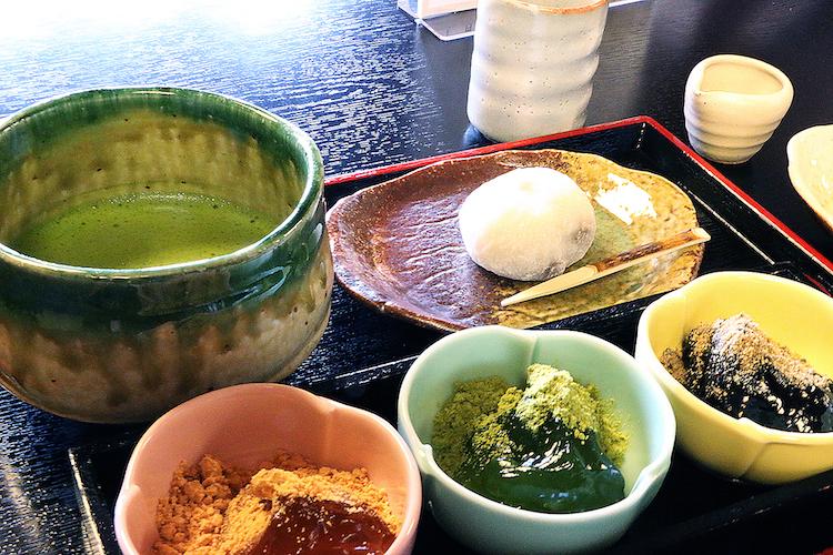 嵐山の食事